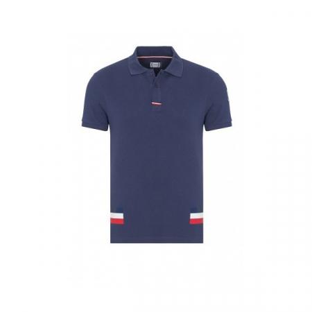 PACK 5 MONCLER Poloshirt Men-Navy0