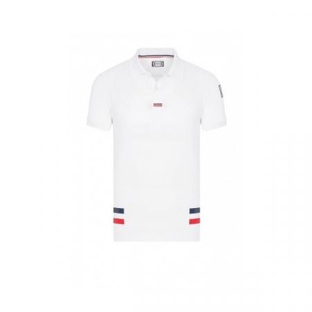 PACK 5 MONCLER Poloshirt Men-White0