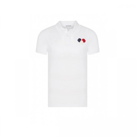 PACK 5 MONCLER Poloshirt Men – White0