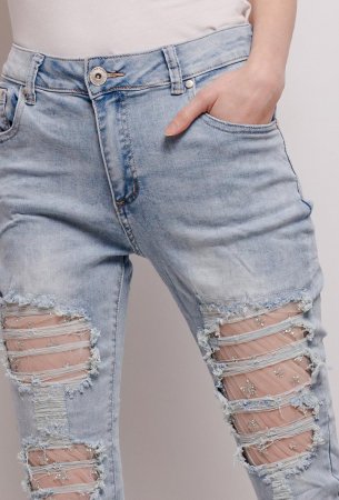PACK 10 STARBEST women ripped jeans1