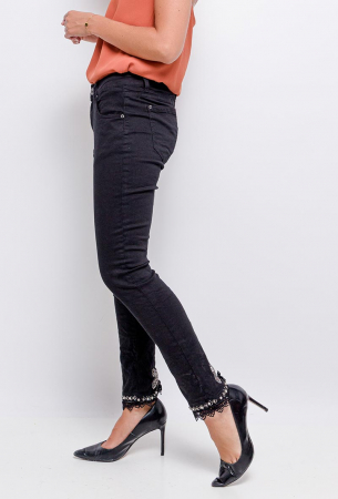 PACK 10 STARBEST Jeans with strass black2