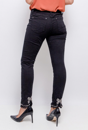 PACK 10 STARBEST Jeans with strass black3