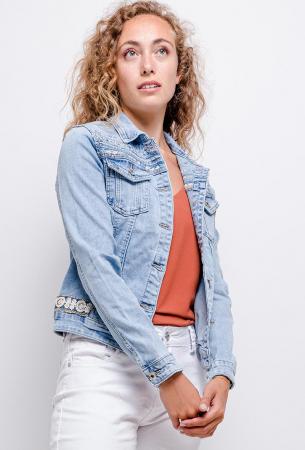 PACK 10 STARBEST Denim jacket with strass0