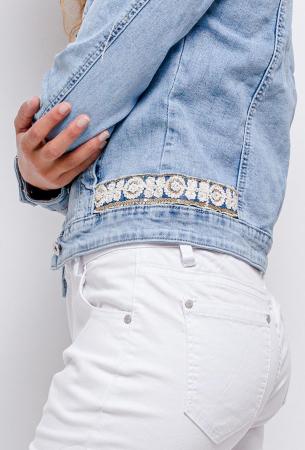 PACK 10 STARBEST Denim jacket with strass1