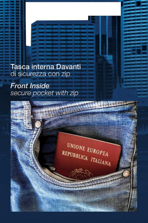 """PACK 10 PASSPORT denim with """"Play Jeans"""".5"""