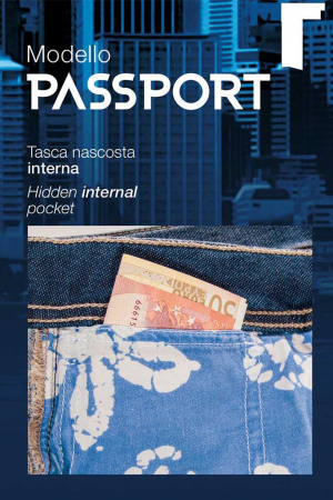 """PACK 10 PASSPORT denim with """"Play Jeans"""".3"""