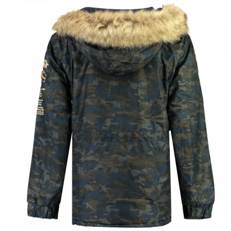 PACK 24 JACKETS BARMAN BOY CAMO 0683