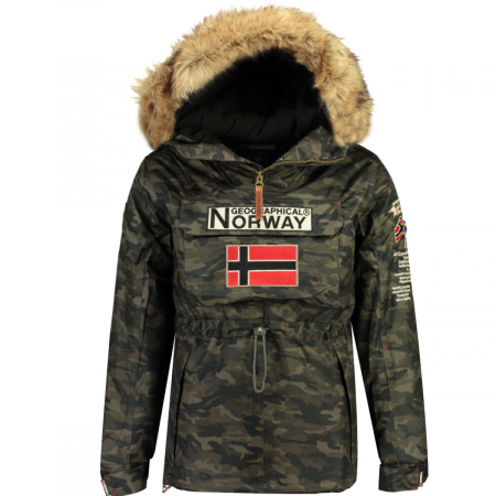PACK 24 JACKETS BARMAN BOY CAMO 0681