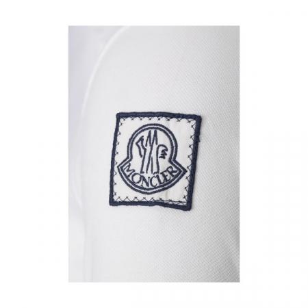 PACK 5 MONCLER Poloshirt Men-White2
