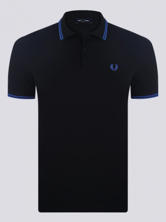 PACK 7 Fred Perry Men's Polo Black/Blue1