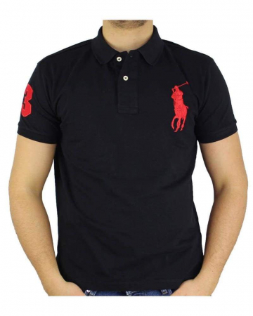 PACK 10 Ralph Lauren Custom Fit Men's Polo Shirts Big Pony3