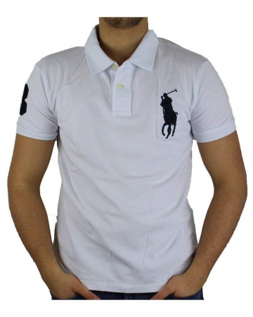 PACK 10 Ralph Lauren Custom Fit Men's Polo Shirts Big Pony2