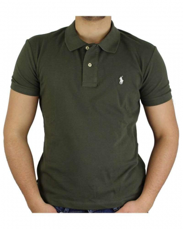 PACK 10 Ralph Lauren Custom Fit Men's Polo Shirts Small Pony0