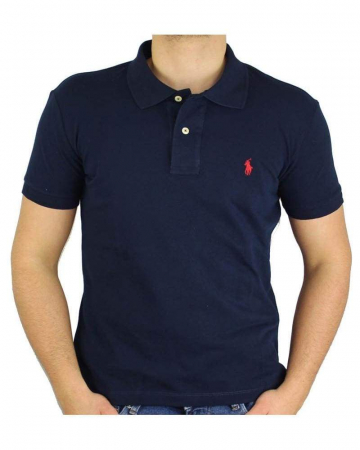 PACK 10 Ralph Lauren Custom Fit Men's Polo Shirts Small Pony1