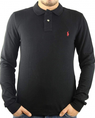 PACK 10 Ralph Lauren Men's Polo Shirts Long Sleeve Small Pony3