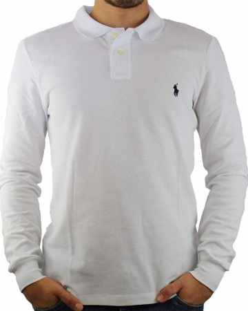 PACK 10 Ralph Lauren Men's Polo Shirts Long Sleeve Small Pony0