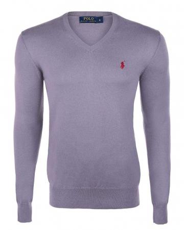 PACK 10 Ralph Lauren V Neck Men's Pullover Lila1