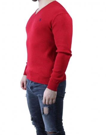 PACK 10 Ralph Lauren V Neck Men's Pullover Lila8