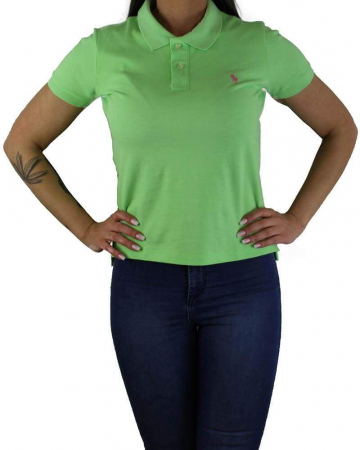 PACK 10 Ralph Lauren Women's Polo Shirts Slim Fit Small Pony0