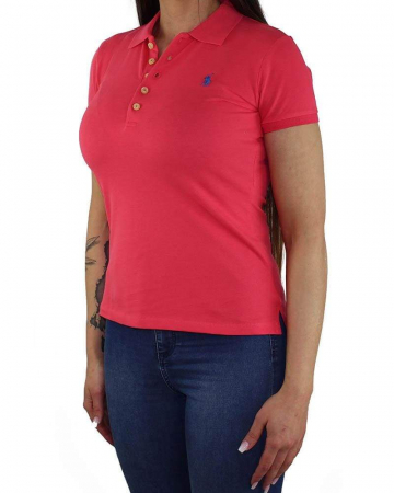 PACK 10 Ralph Lauren Women's Polo Shirts Slim Fit Small Pony2