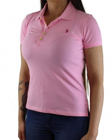PACK 10 Ralph Lauren Women's Polo Shirts Slim Fit Small Pony5