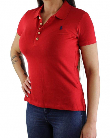 PACK 10 Ralph Lauren Women's Polo Shirts Slim Fit Small Pony6