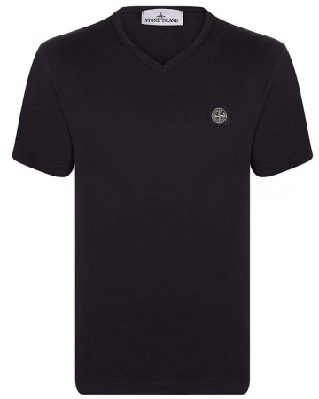 PACK 10 Stone Island Men's V - Neck Roll Brand T-Shirts0