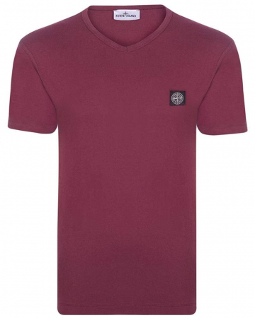 PACK 10 Stone Island Men's V - Neck Roll Brand T-Shirts1