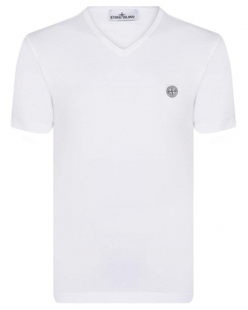 PACK 10 Stone Island Men's V - Neck Roll Brand T-Shirts3