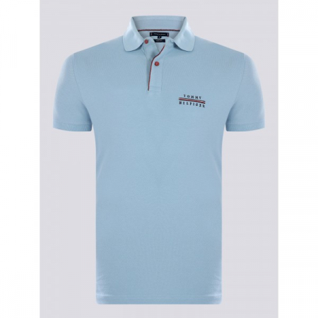 PACK 5 Tommy Hilfiger polo shirt light blue0