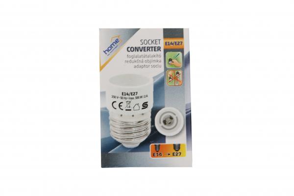 Adaptor soclu  E14 la E27 [0]