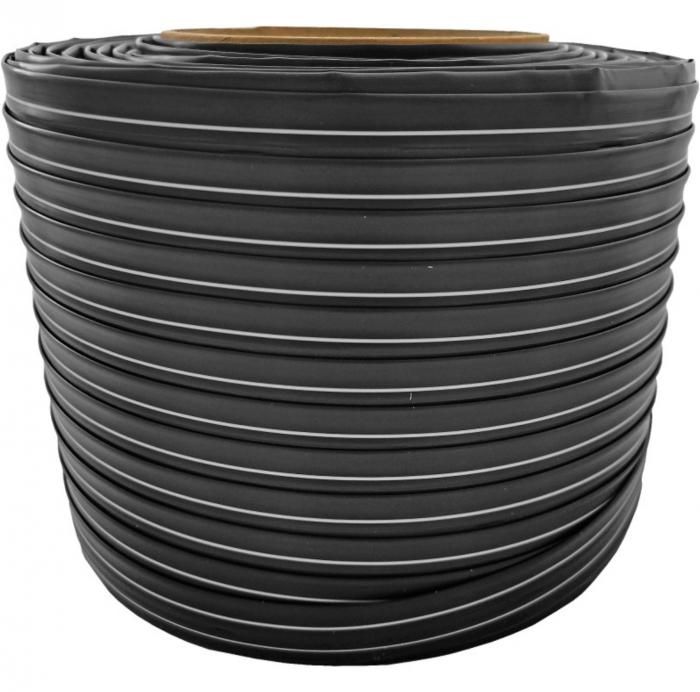 Banda picurare 150 metri, debit 1.1 litri/ora, distanta gauri 10cm, diametru 17mm, 6mil ISO 9001 [0]