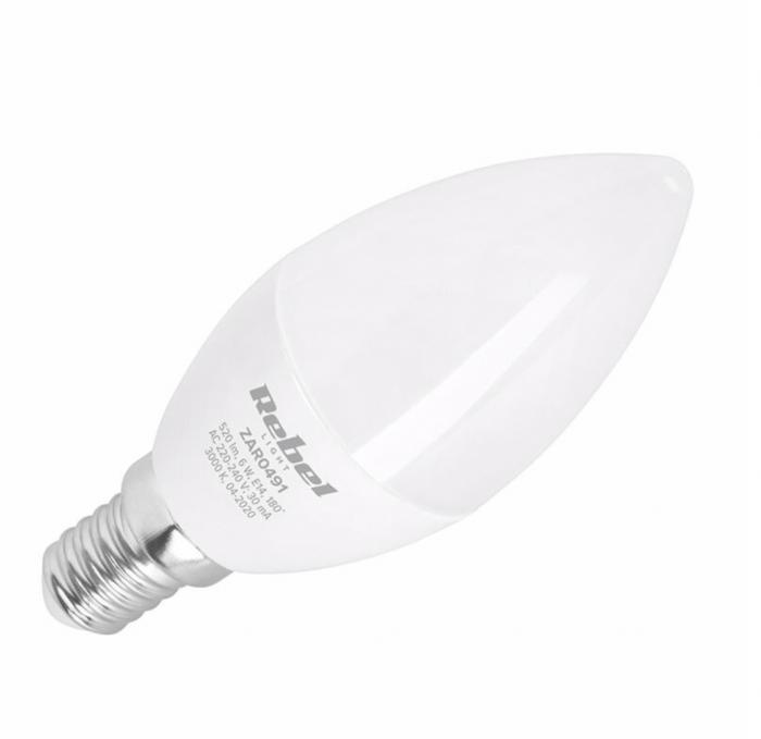 Bec LED 6W E14 4000K 230V Rebel Light [0]