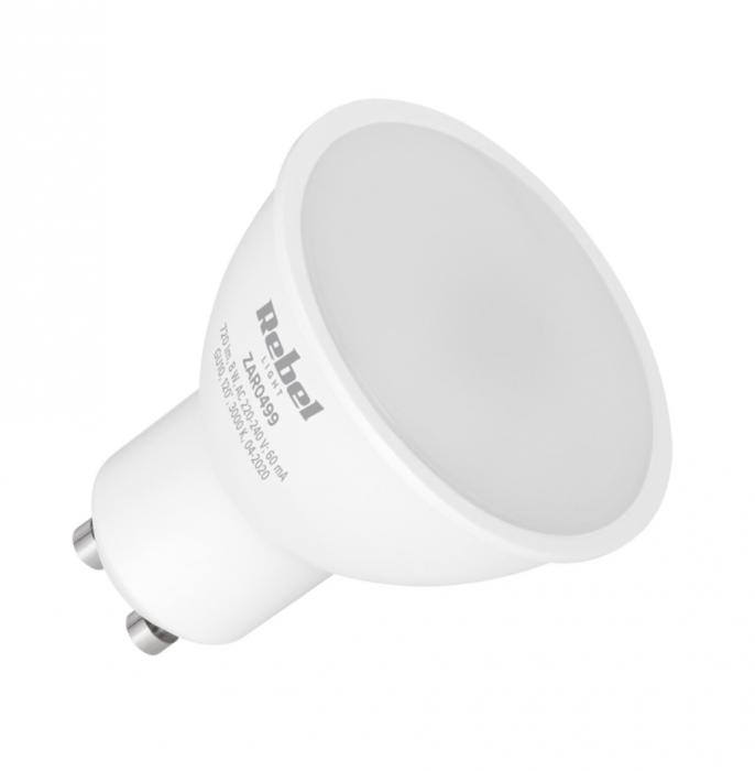 Bec LED GU10 8W 3000K 230V Rebel Light [0]