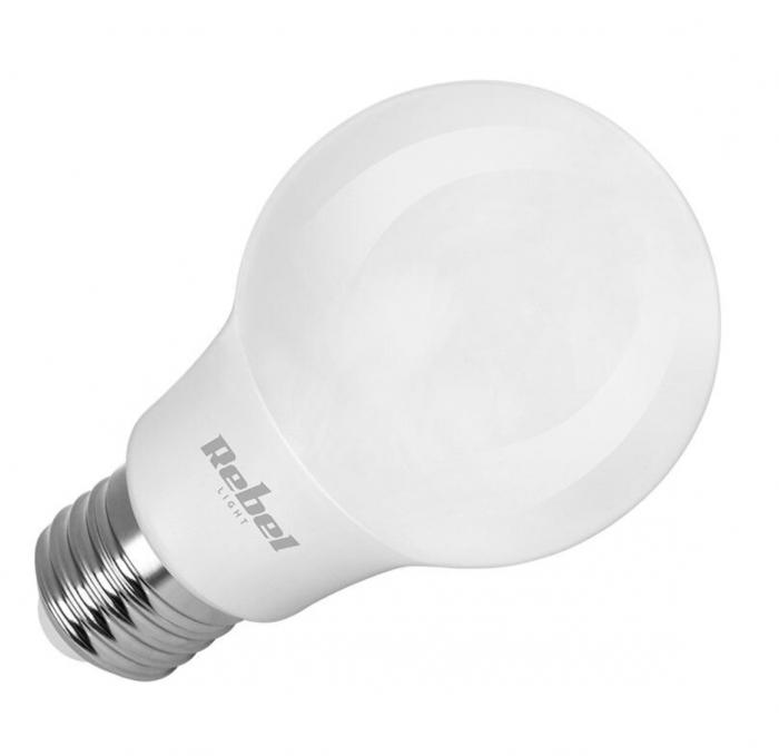 Bec LED Rebel Light, A60, 9W, E27, 3000K, 230V [0]