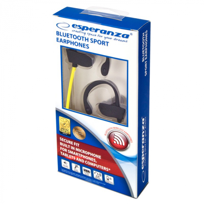 Bluetooth Casti Sport, Esperanza, EH188Y [1]