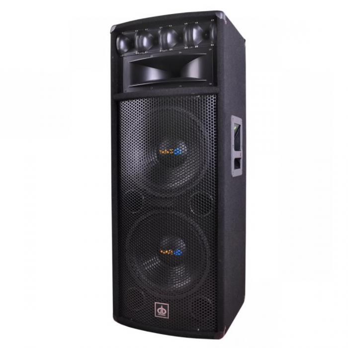 Boxa audio Pasiva Dibeisi , 2 difuzoare woofer ( Dimensiune 2 x 12 inch), 4 difuzoare tweeter, PMPO 800W , Sensibilitate 98 dB , Raspuns in frecventa 25 Hz - 20 kHz , Magnet woofer 40 oz [0]