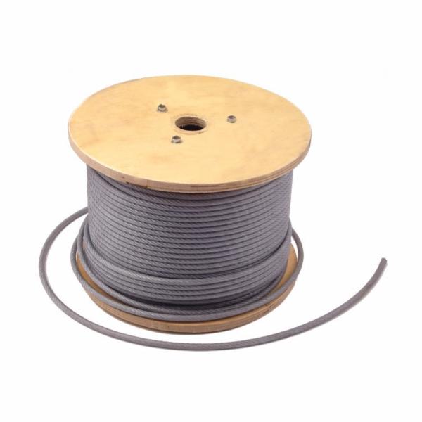 Cablu otel plastifiat 6/ 7.5 MM x 100 M [0]