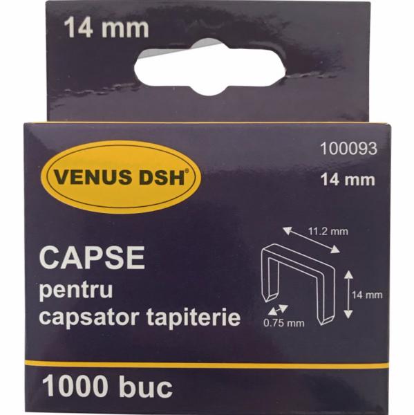 CAPSE PENTRU CAPSATOR TAPITERIE 14 x 11 x 0.75 MM (1000buc) [2]
