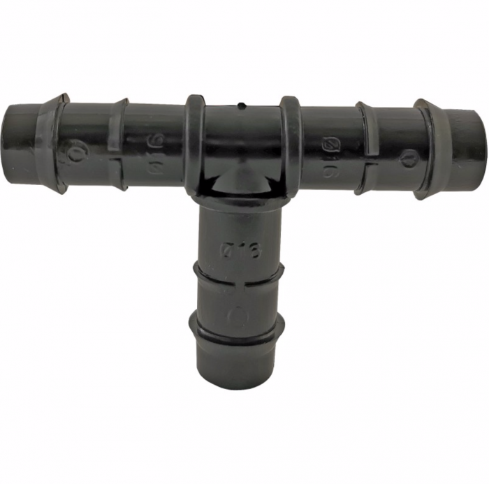 Conector Teu pentru Tub Picurare, Diametru 16 mm, set 10 bucati [0]