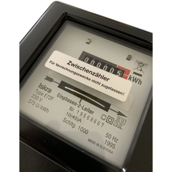 Contor pasant, Iskra 5031H, monofazat 230V, 50Hz, 10(40)A [1]