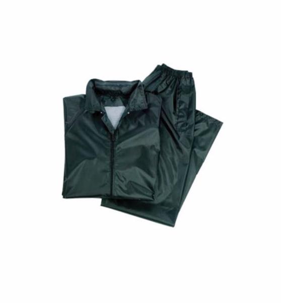 Costum profesional impermeabil pentru ploaie,  2 XL, verde [0]
