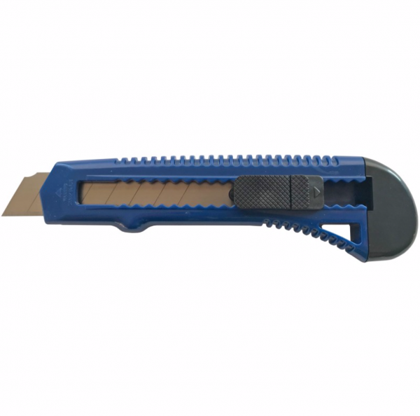 Cutter 0.5x18 MM, albastru cu 2 lame de rezerva [0]
