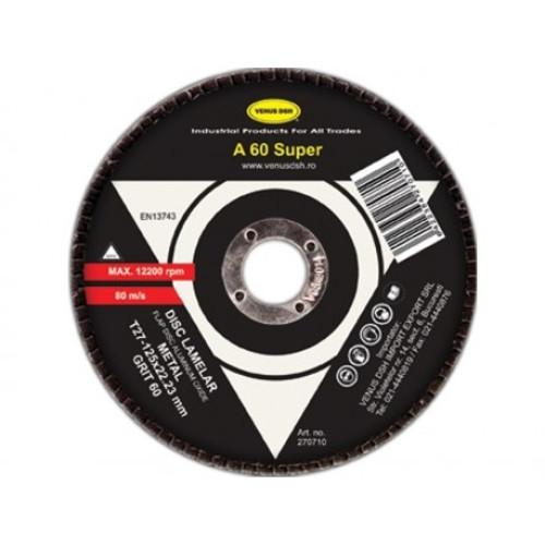 Disc lamelar frontal metal T29 -125x22.23 mm,granulatie 60 [0]