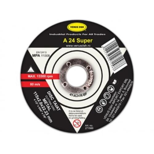 Disc taiat metal - 41-A36 R-bf -125x1.6x22.23 mm [0]