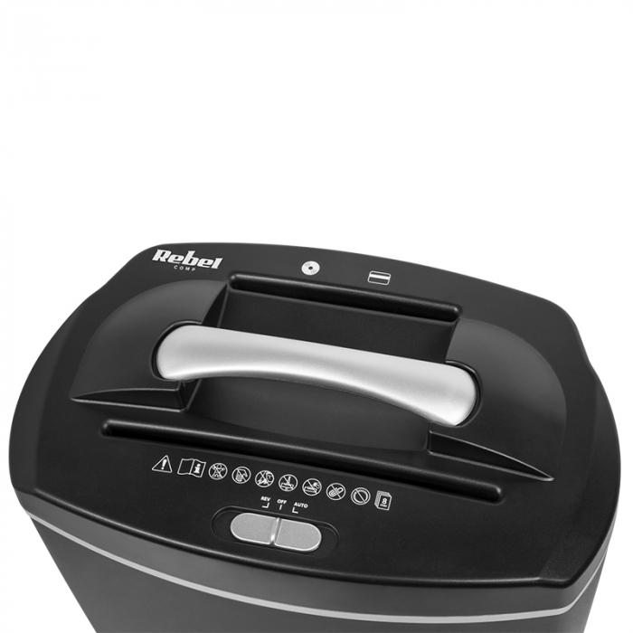 Distrugator de documente si CD Shredder Cos 21 litri [1]