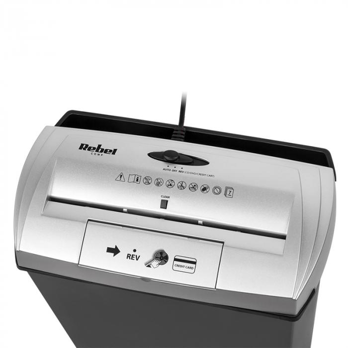 Distrugator documente si CD Shredder cos 13 Litri [1]