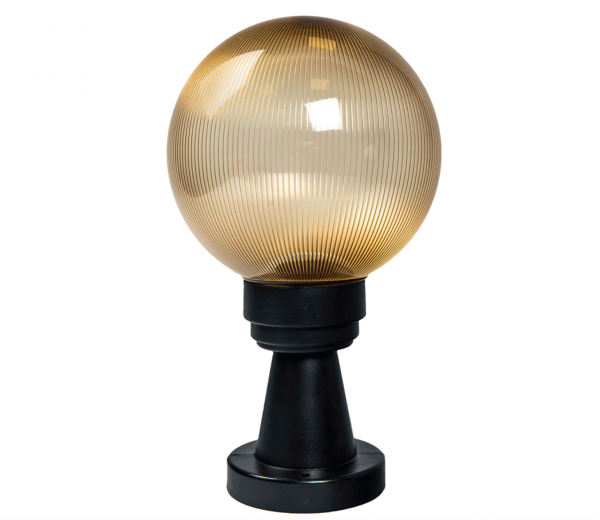 Felinar de gradina, Luca, glob auriu 1XE27 [0]