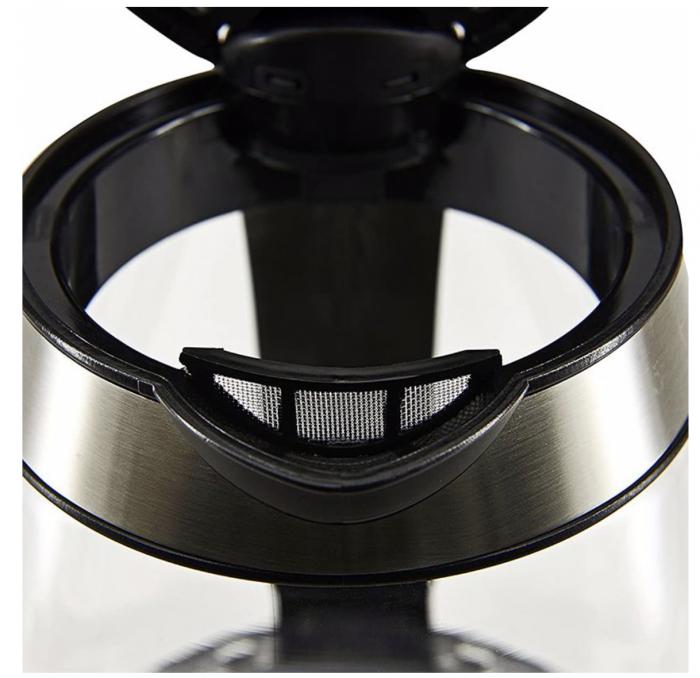 Fierbator sticla Pem, 1.7 l, 2200 W, baza 360 grade, filtru detasabil, protectie la supraincalzire [2]