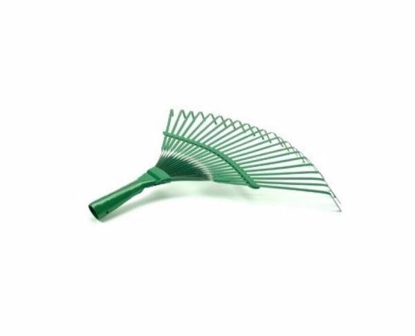 Grebla din otel carbon,  vopsit verde cu 22 dinti pentru frunze [1]